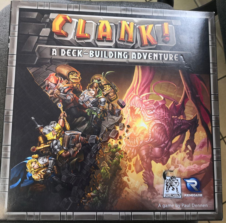 Igra na dan –  Clank!: A Deck-Building Adventure