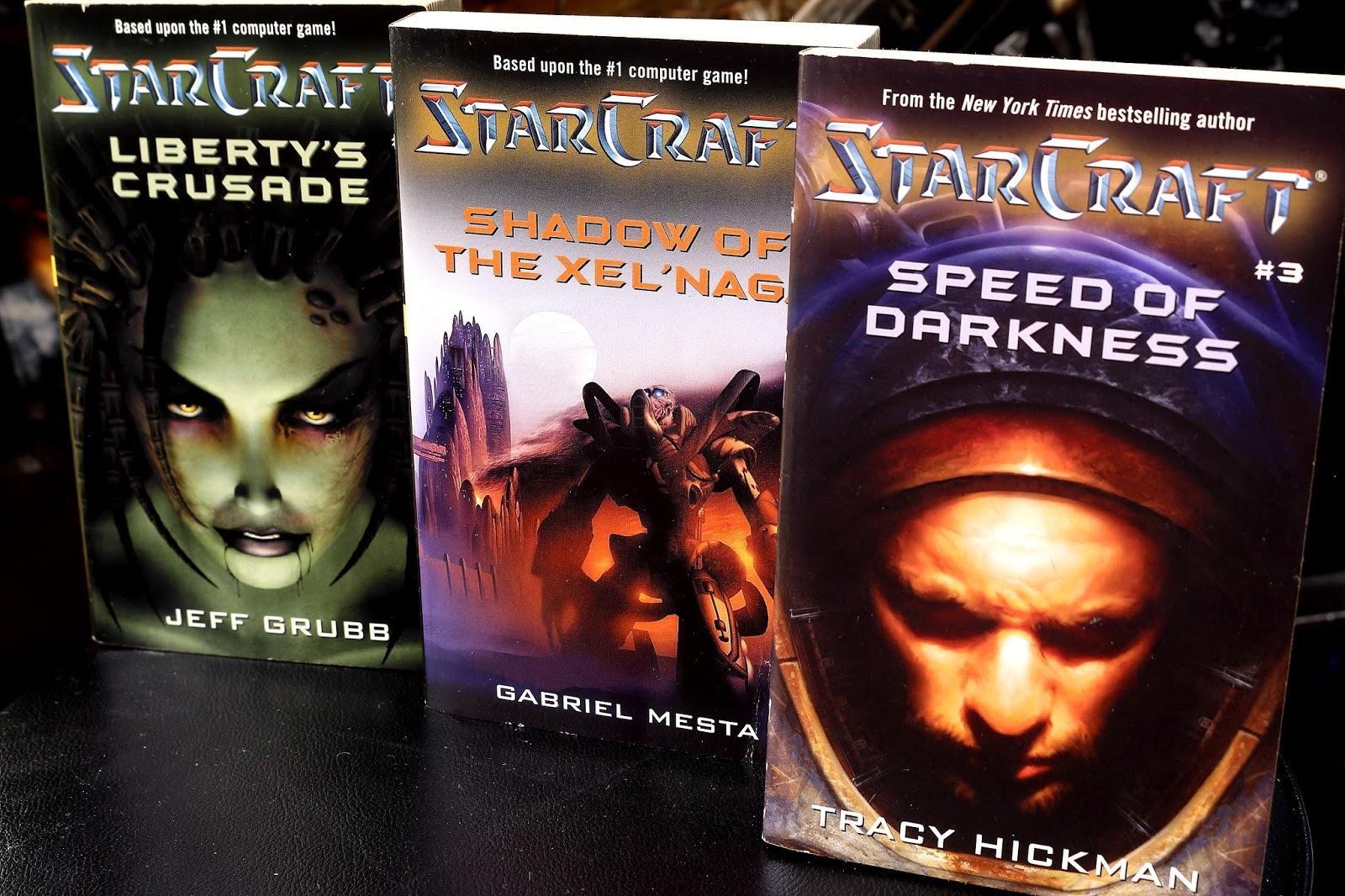 Knjige s naše police – StarCraft