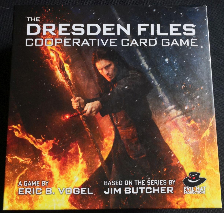 Igra na dan – The Dresden Files Cooperative Card Game