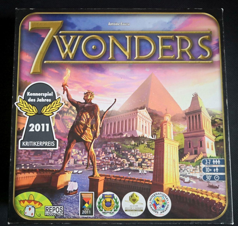 Igra na dan – 7 Wonders